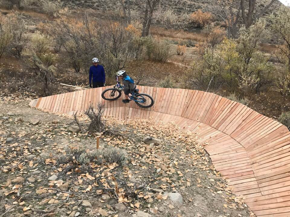 bike trail ramp